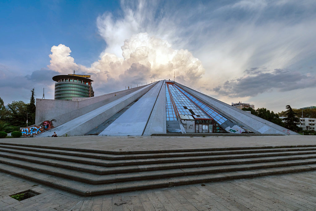 Piramida-Pyramid of Tirana